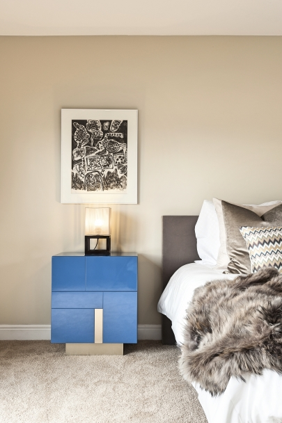 Outrance Interiors exclusive bedroom mini Topaz sideboard