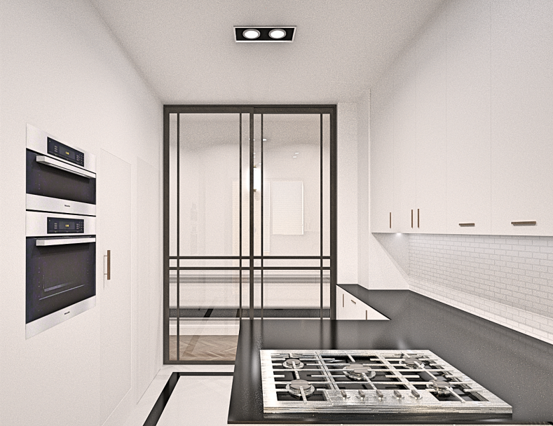 Outrance Interiors 3D Kitchen