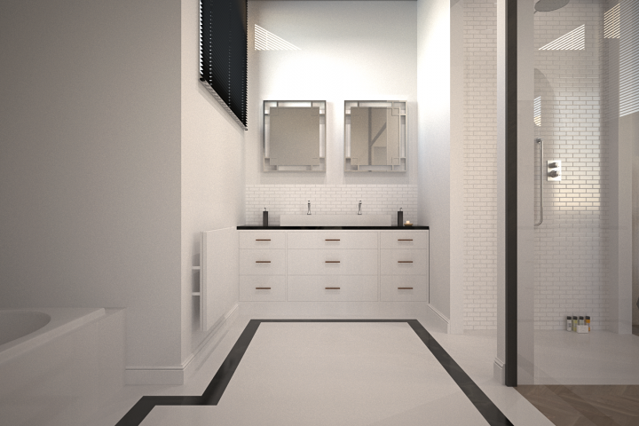 Outrance 3D Studio interior render